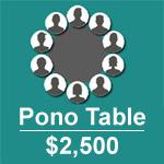 Pono Table $2,500